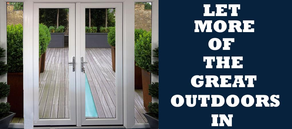 French and patio doors for Upvc french doors with cat flap